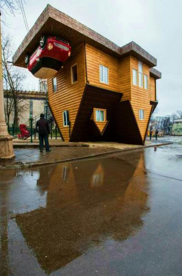 موزه خانه وارونه در شهر اوفا روسیه - شهر اوفا در روسیه، دیدنیها و هزینه های زندگی 2019