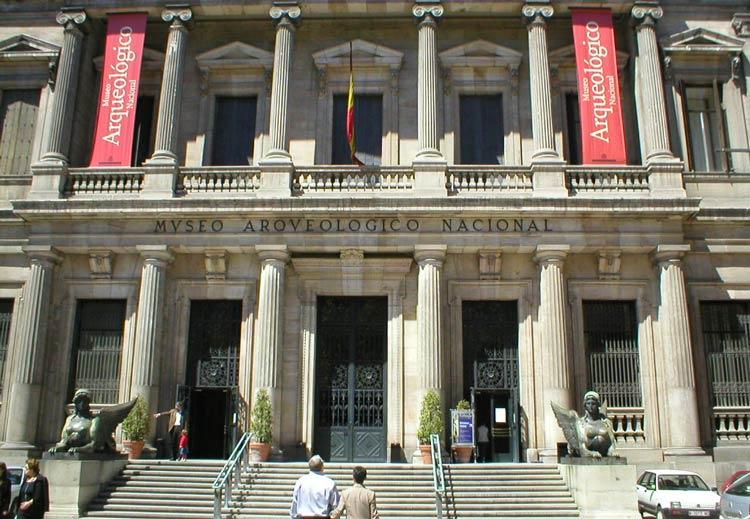 موزه ی ملی باستان شناسی - شهرهای اسپانیا