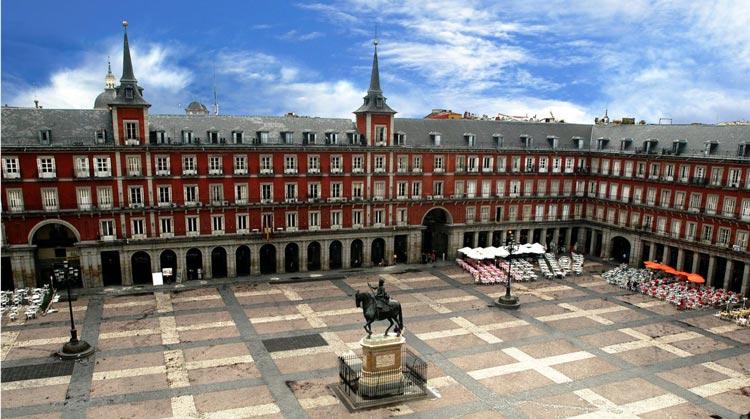 میدان اصلی مادرید - شهرهای اسپانیا