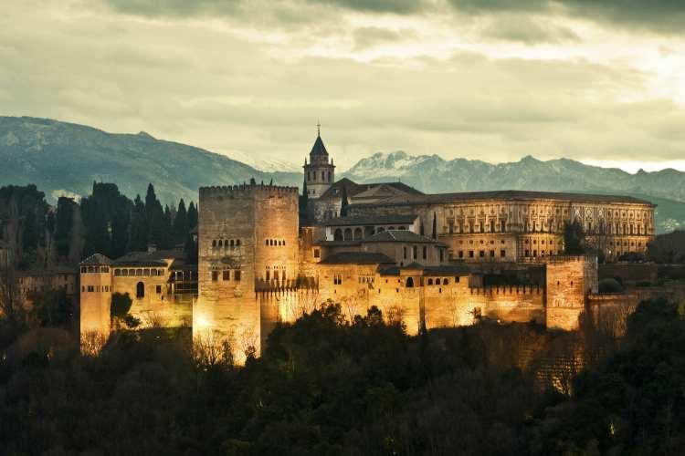 کاخ الحمراء - شهرهای اسپانیا