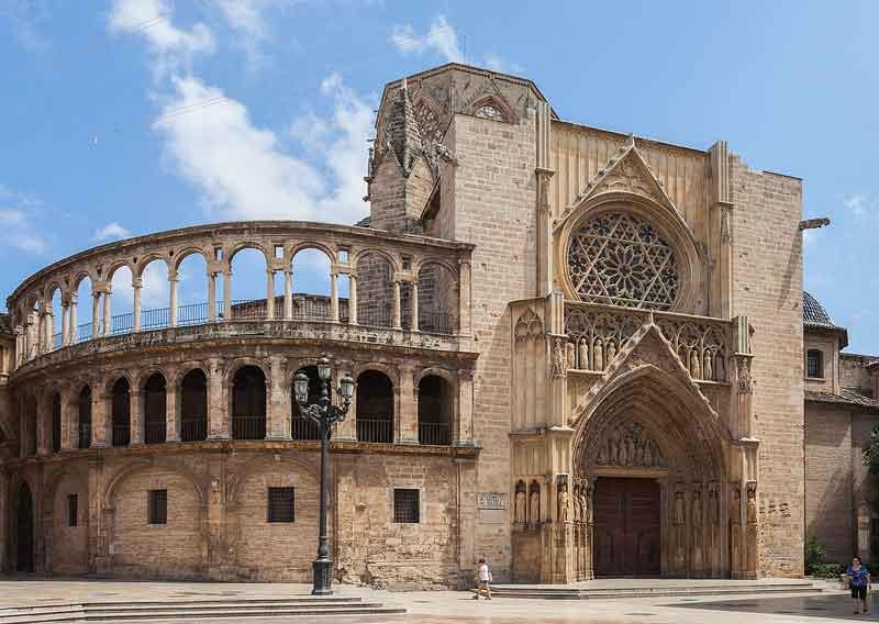 کلیسای جامع والنسیا - شهرهای اسپانیا