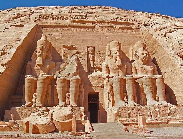 ابو سمبل - اماکن تاریخی مصر