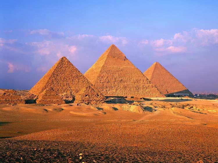 اهرام مصر - دانستنیهای کشور مصر