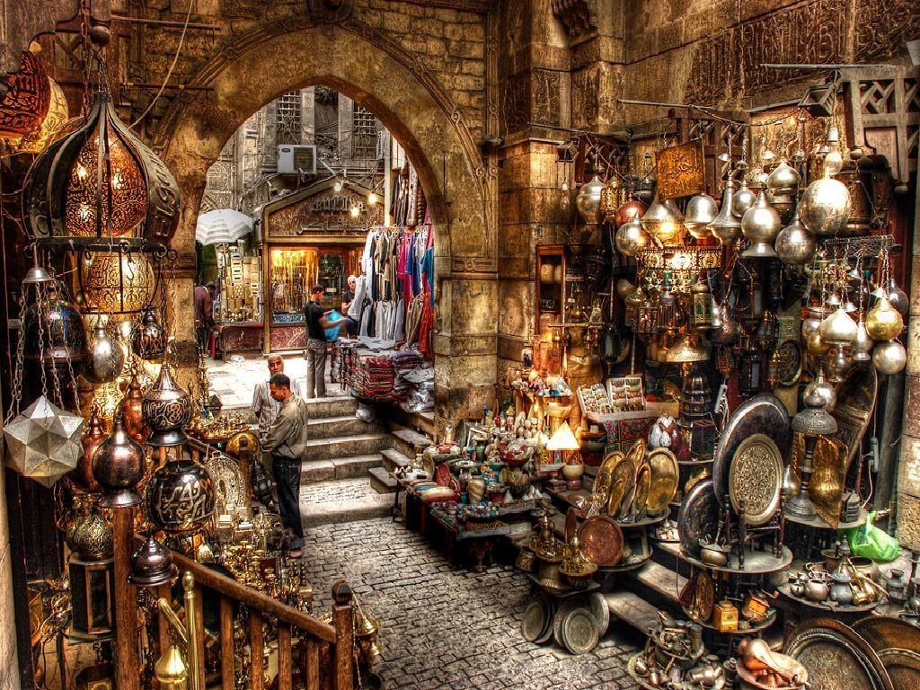 خان الخلیلی - مراکز خرید در مصر