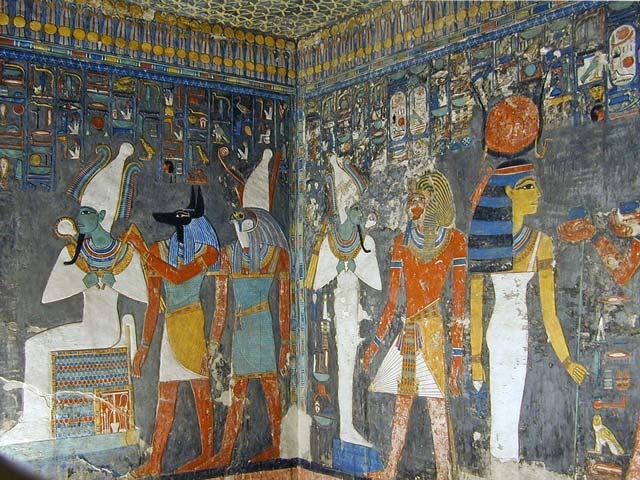 دره ی پادشاهان - اماکن تاریخی مصر