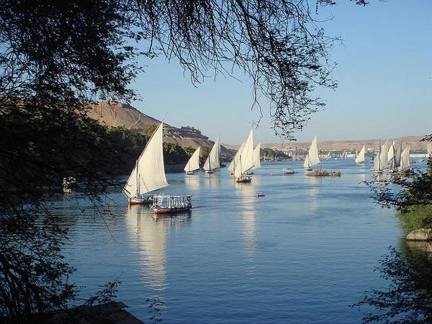 رودخانه ی نیل - اماکن تفریحی مصر