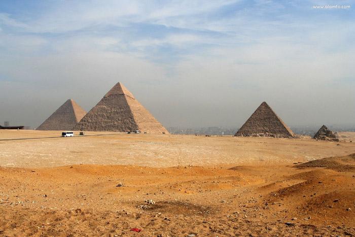 گورستان جیزه - اماکن تاریخی مصر
