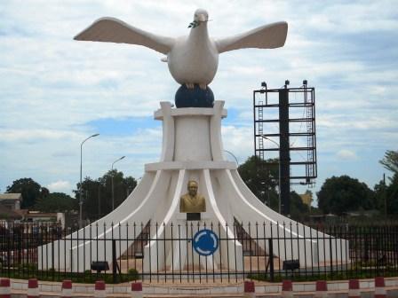 میدان در بانگی - شهر بانگی جمهوری آفریقای مرکزی