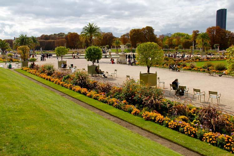 باغ لوکزامبورگ 1 - شهر پاریس فرانسه