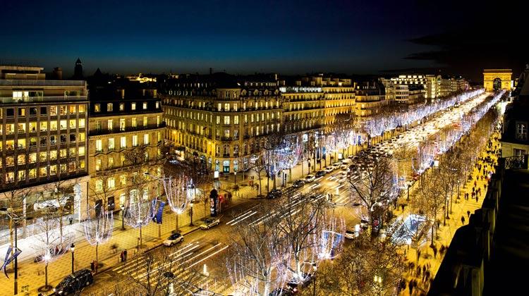 خیابان شانزلیزه 1 - شهر پاریس فرانسه