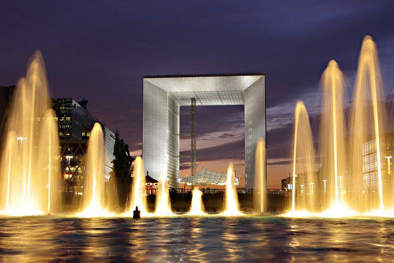 طاق بزرگ دفاع پاریس - شهر پاریس فرانسه