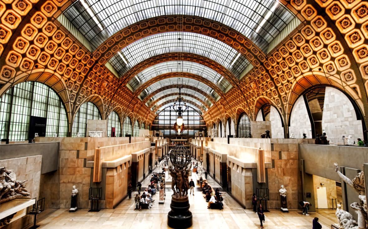 موزه ی اورسی - شهر پاریس فرانسه