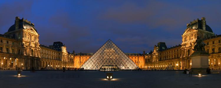 موزه ی لوور - شهر پاریس فرانسه