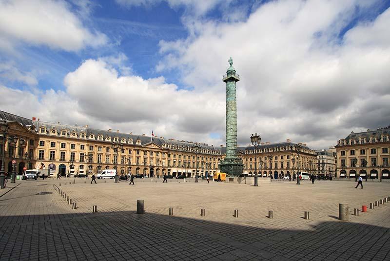 میدان واندوم 1 - شهر پاریس فرانسه