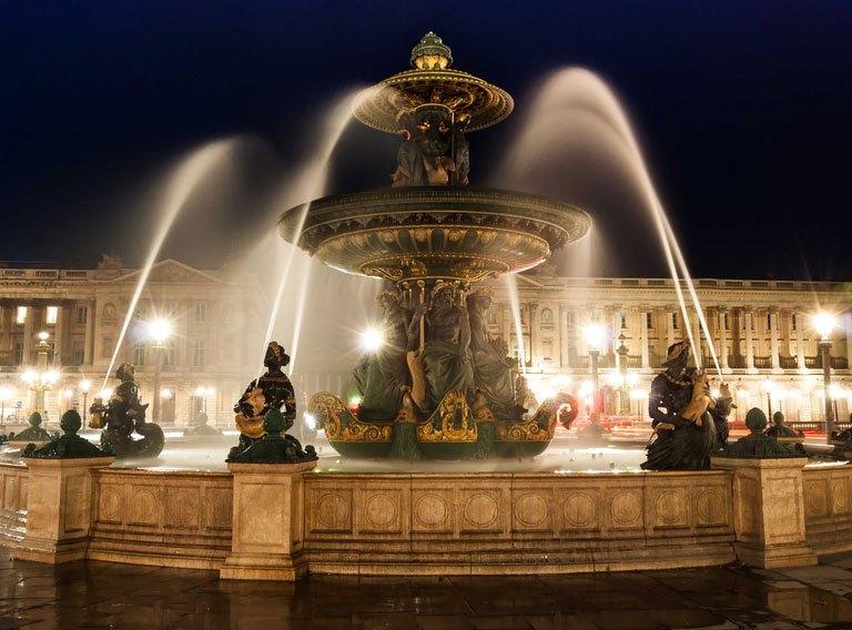 میدان کونکورد 1 - شهر پاریس فرانسه