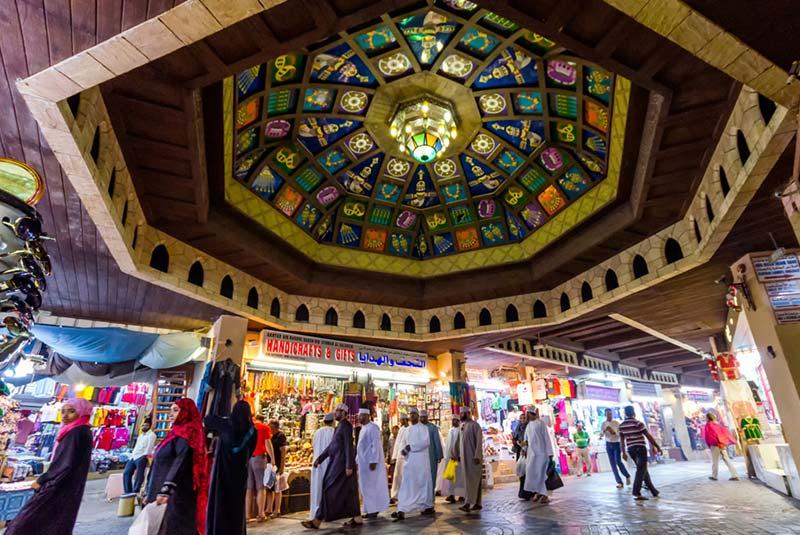 بازار مطرح مسقط 4 - مراکز خرید کشور عمان
