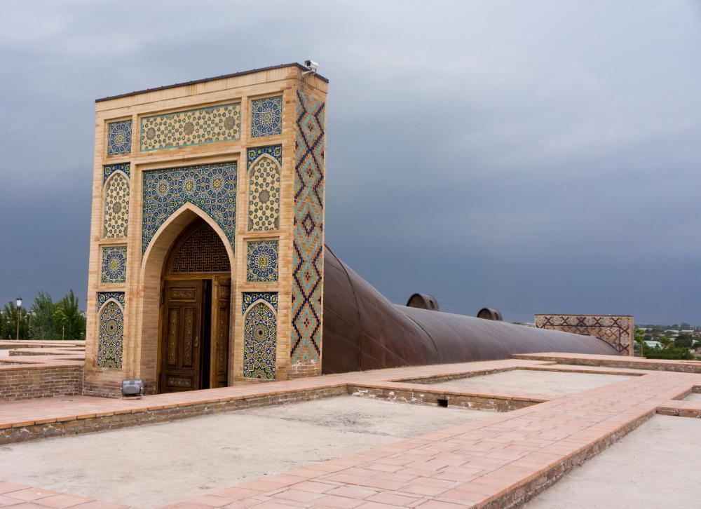 رصدخانه الغ بیگ 1 - رصدخانه الغ بیگ سمرقند ازبکستان