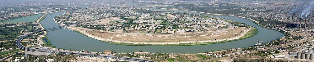 رود دجله 4 - رود دجله سمرقند عراق