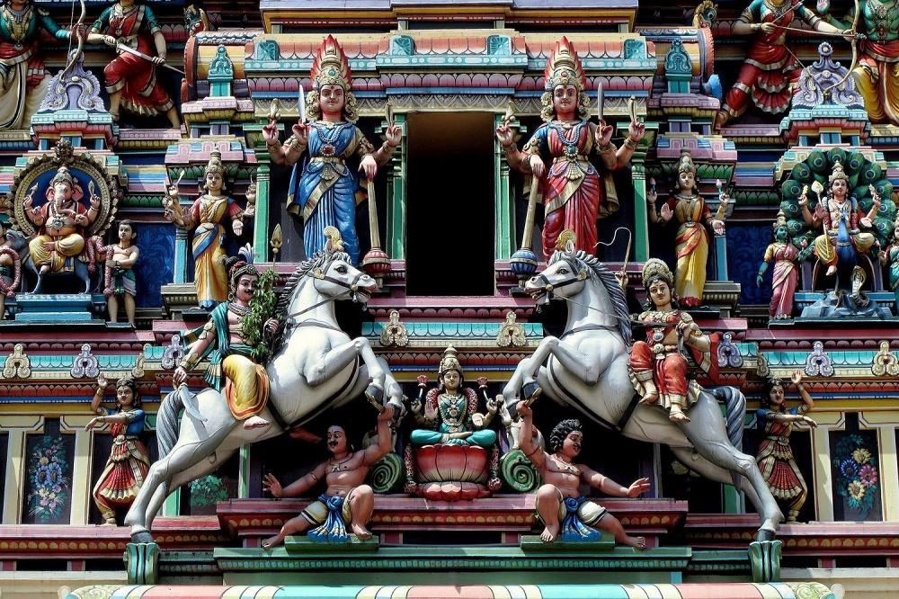 سری ماریامان سنگاپور - معبد سری ماریامان سنگاپور