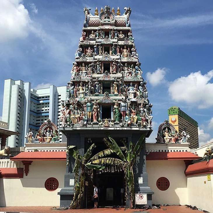 سری ماریامان - معبد سری ماریامان سنگاپور