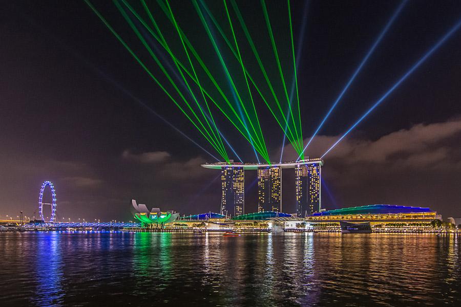 ماریانا بی سندز سنگاپور - تفرجگاه مارینا بی سندز سنگاپور