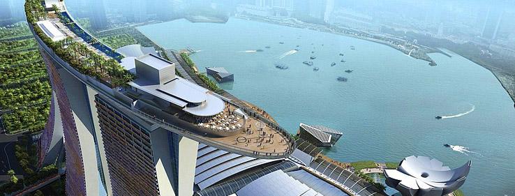 ماریانا بی سندز هتل - تفرجگاه مارینا بی سندز سنگاپور