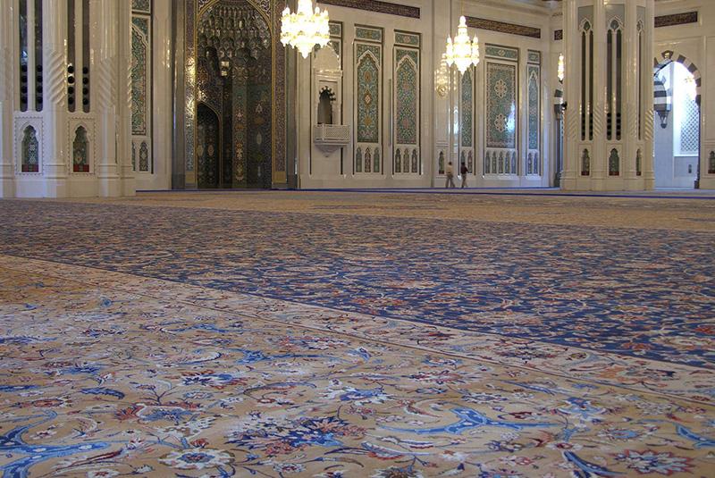 مسجد جامع سلطان قابوس مسقط 5 - مکان های دیدنی کشورعمان