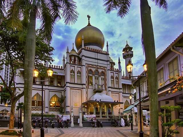 مسجد سلطان سنگاپور 1 - مسجد سلطان سنگاپور