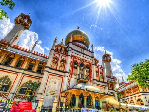 مسجد سنگاپور - مسجد سلطان سنگاپور