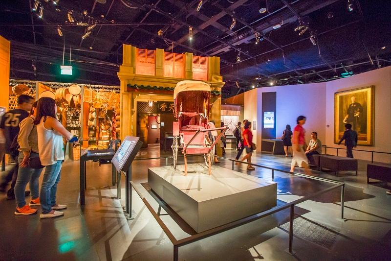 موزه سنگاپور 3 - موزه ملی سنگاپور