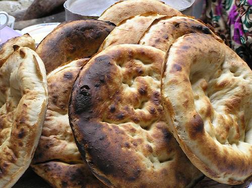چوروک ها  - غذا در کشور ترکمنستان