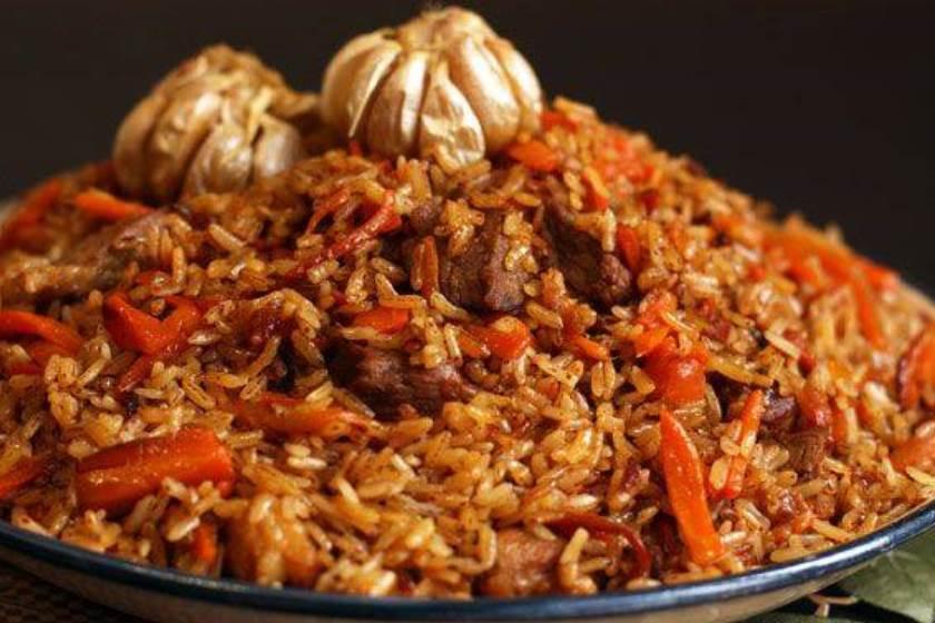 چکدرمه - غذا در کشور ترکمنستان