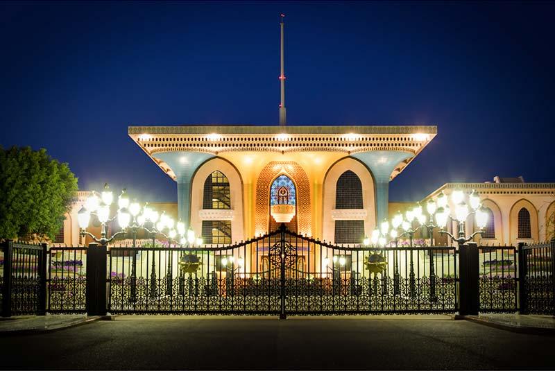 کاخ العالم 3 - مکان های دیدنی کشورعمان