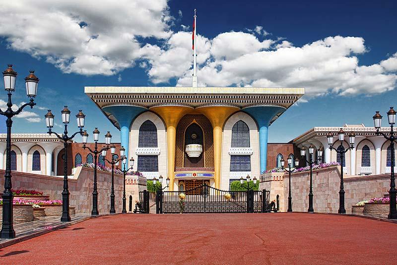 کاخ العالم 5 - مکان های دیدنی کشورعمان