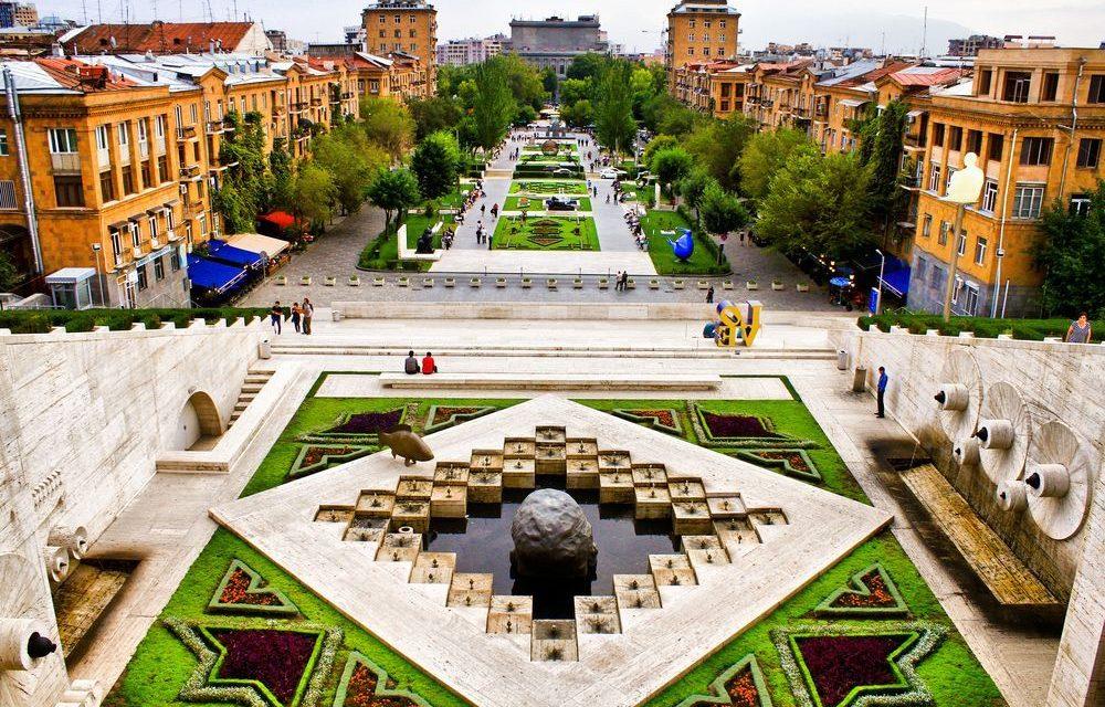 کاسکاد ایروان 1 1 - کاسکاد ایروان ، ارمنستان