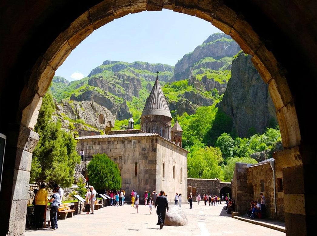 کغارد - صومعه گغارد ایروان، ارمنستان