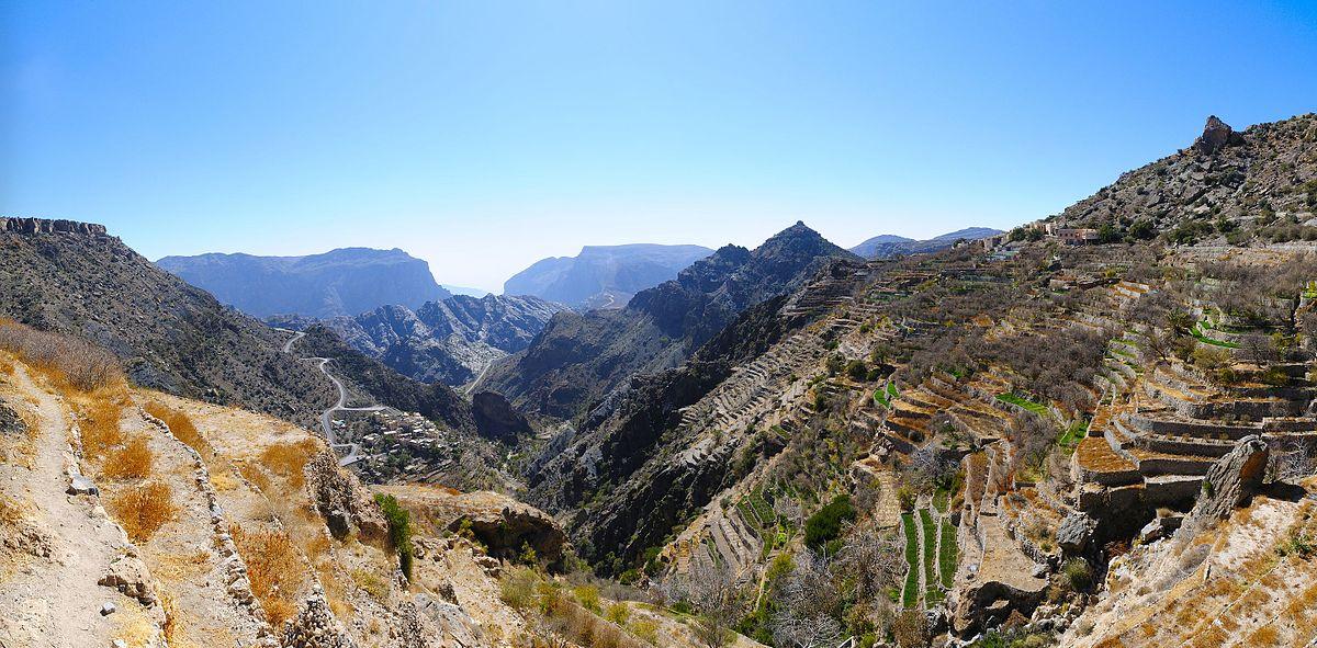 کوه اخضر 1 - مکان های دیدنی کشورعمان