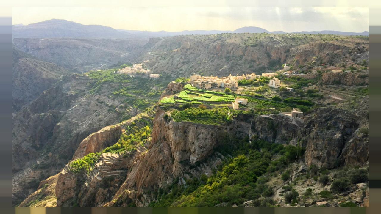 کوه اخضر مسقط عمان