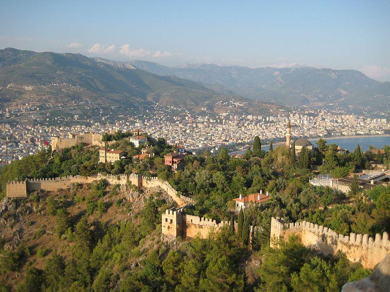 شهر آلانیا در ترکیه