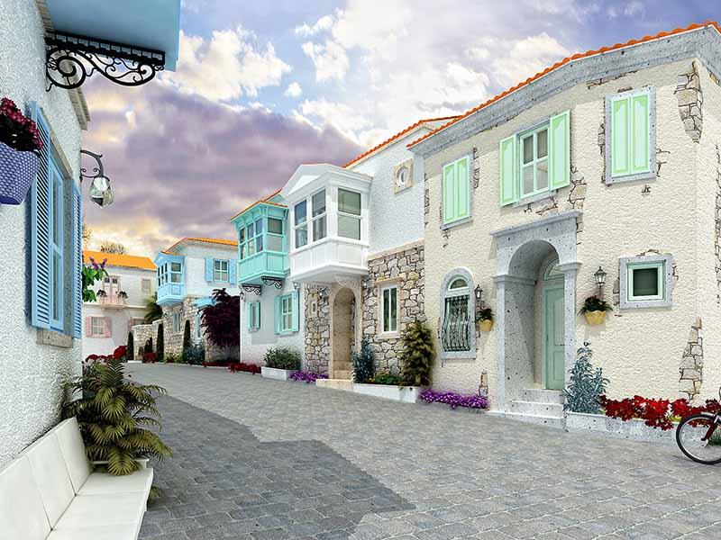 شهر آلاچاتی در ترکیه