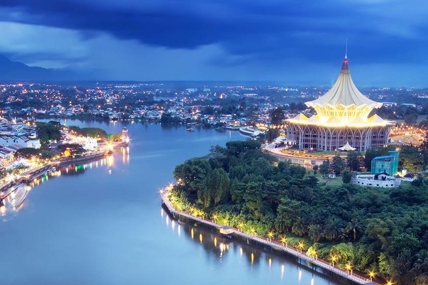شهر ساراواک 4 - شهرهای مالزی