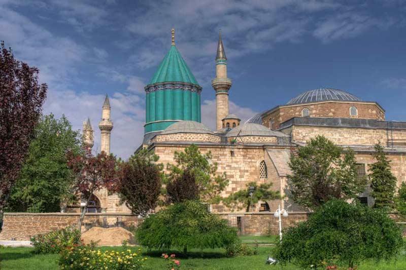 شهر قونیه در ترکیه