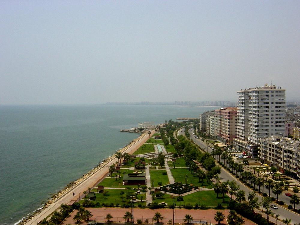 شهر مرسین در ترکیه