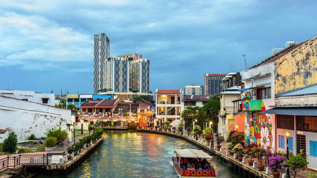 شهر ملاکا در مالزی