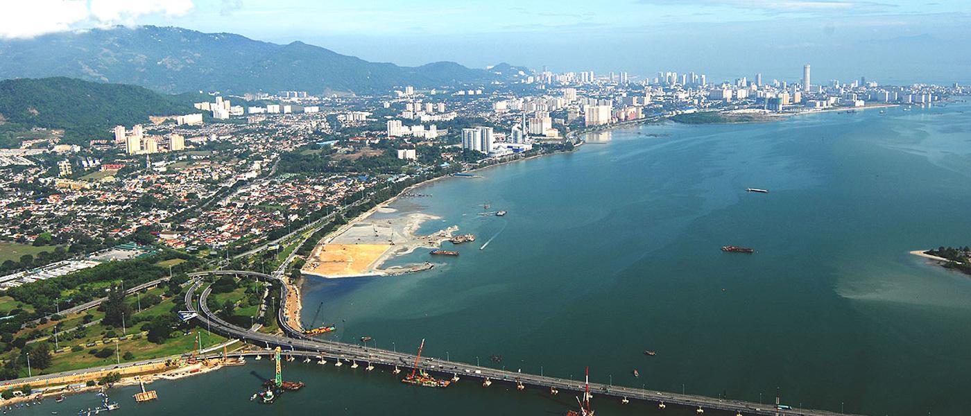 شهر پنانگ 2 - شهرهای مالزی