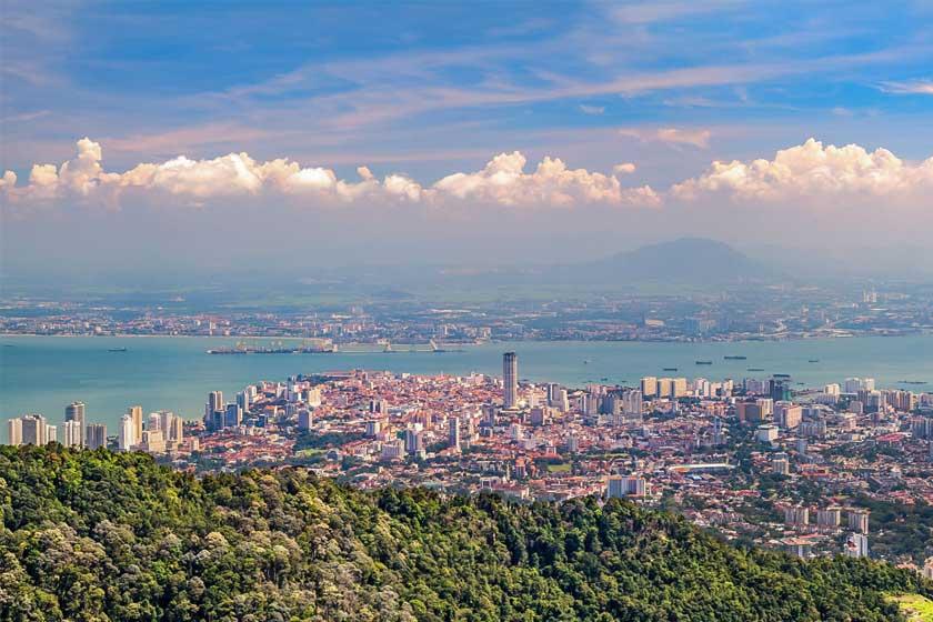 شهر پنانگ در مالزی