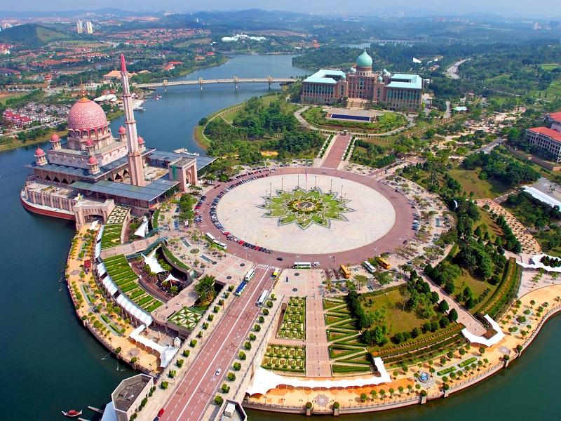 شهر پوتراجایا 4 - شهرهای مالزی