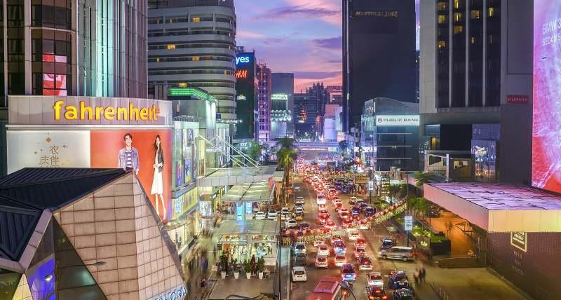 شهر کوالالامپور در مالزی