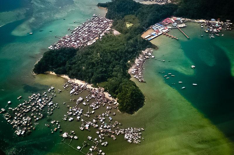 شهر کوتا کینابالو در مالزی