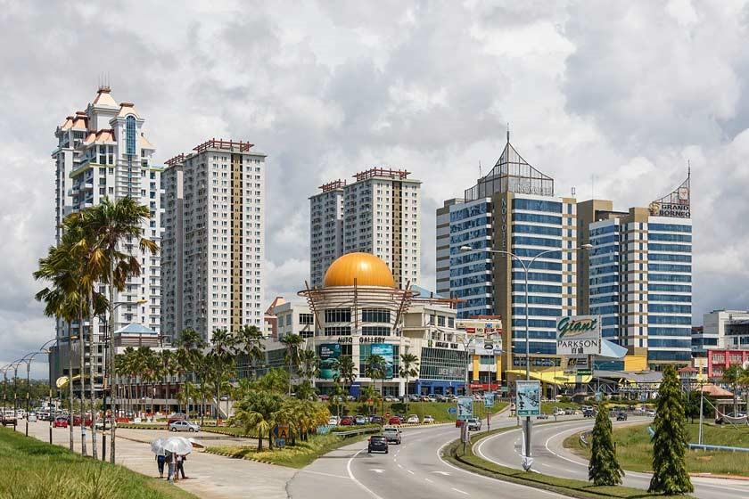 شهر کوتا کینابالو 7 - شهرهای مالزی